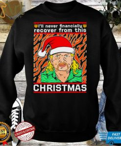 Joe exotic Ill never financially recover from this Christmas ugly shirt